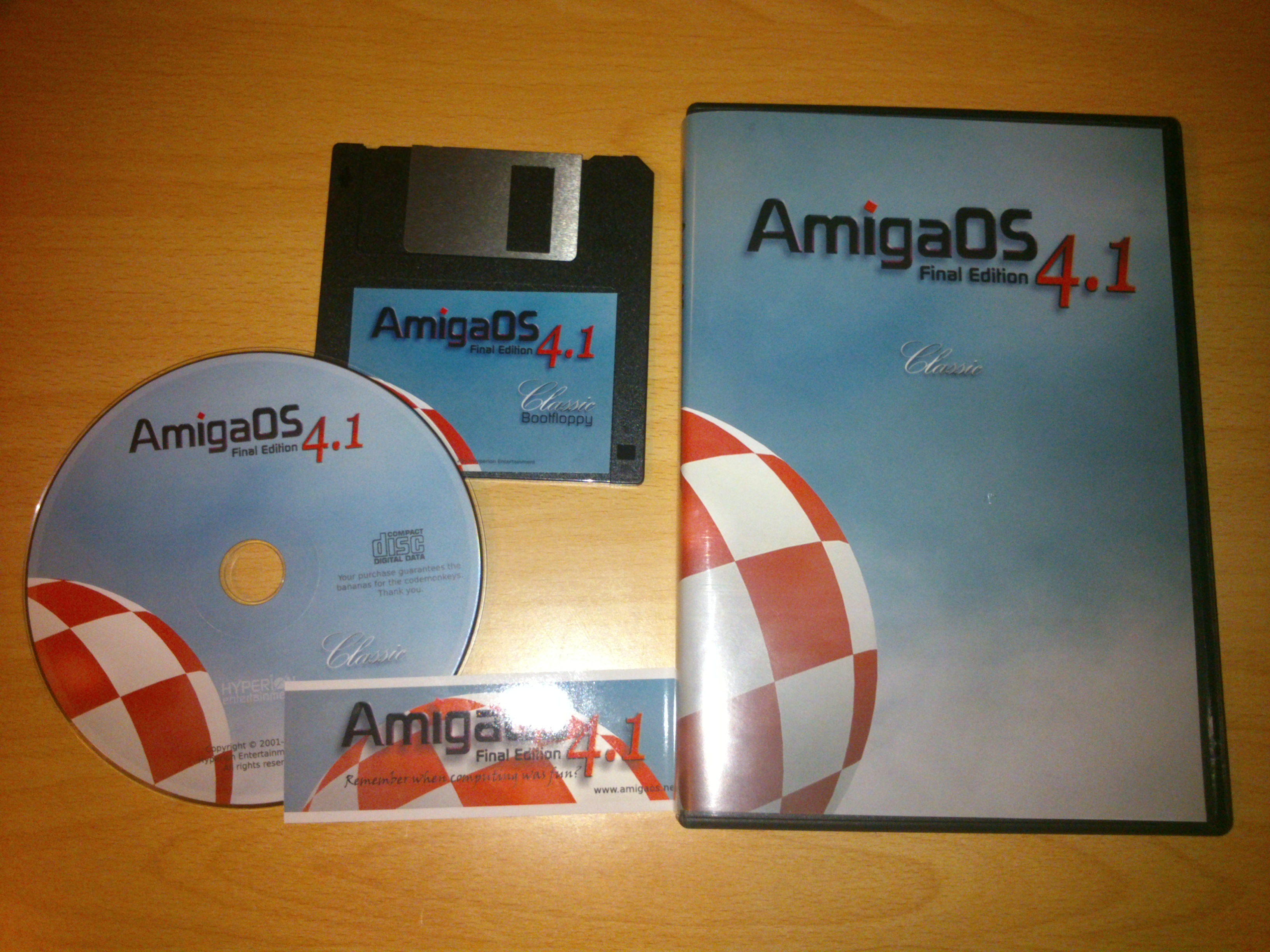 Playing with Amigaos 4 1 Final Edition